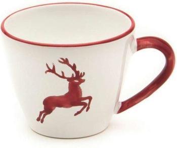gmundner-kaffeetasse-gourmet-0-2-l-rubinroter-hirsch