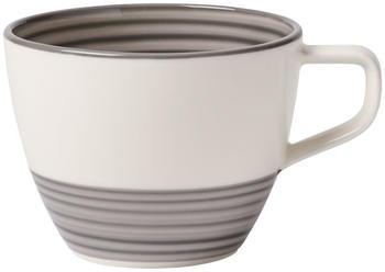 Villeroy & Boch Manufacture Gris Kaffee Obertasse 0,25l
