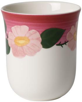 Villeroy & Boch Rose Sauvage Framboise Becher ohne Henkel 0,36l