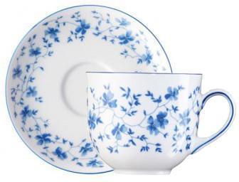 arzberg-form-1382-blaublueten-kaffeetasse-2tlg