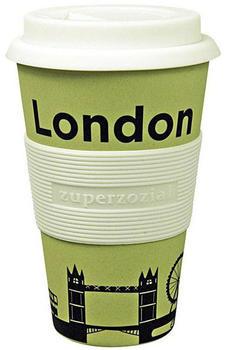 Zuperzozial Coffee to-go Becher Cruising Travel Mug City London