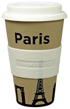 Zuperzozial Coffee to-go Becher Cruising Travel Mug City Paris