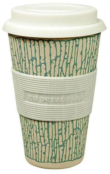 Zuperzozial Coffee to-go Becher Cruising Travel Mug DNA Blue