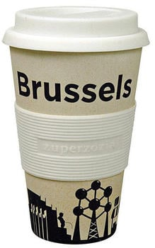 Zuperzozial Coffee to-go Becher Cruising Travel Mug City Brussels