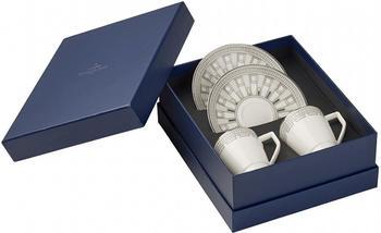 Villeroy & Boch La Classica Contura Espresso Set 4-teilig