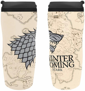 SD Toys Game of Thrones Reisebecher House Stark Winter is Coming