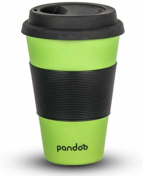 pandoo Bambus Coffee-to-Go-Becher