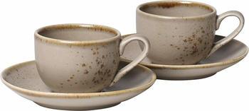 vivo-stone-ware-milchkaffeetasse-set-4-tlg-braun
