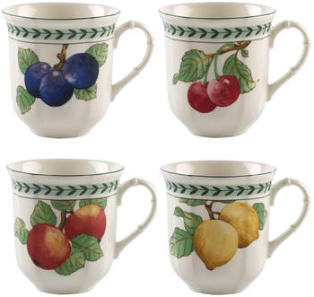 Villeroy & Boch Modern Fruits French Garden Jumbo-Becher 4er-Set