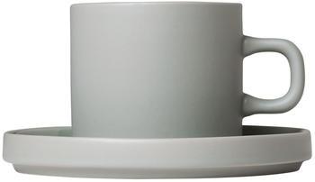 Blomus Mio Kaffeetassen 0,2l (2er-Set) mirage grey