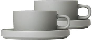 Blomus MIO Teetassen (2er-Set) mirage grey