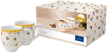 Villeroy & Boch Toy's Delight Becher mit Henkel (0,44 L) Jubiläumsedition 10 Jahre Toy's Delight Set (2-tlg.)
