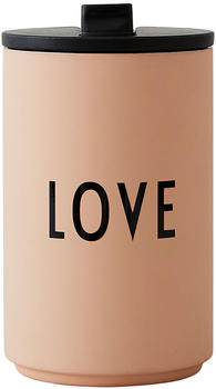 Design Letters Thermo Cup LOVE rosa