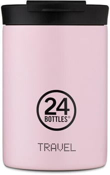 24Bottles Pastel Travel Trinkbecher 350 ml candy pink