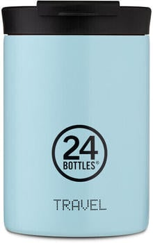 24Bottles Pastel Travel Trinkbecher 350 ml cloud blue
