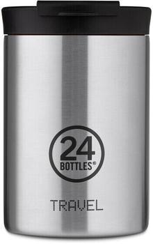 24Bottles Basic Travel Trinkbecher 350 ml steel