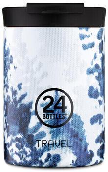 24Bottles Textile Travel Trinkbecher 350 ml hush