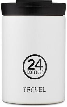 24Bottles Basic Travel Trinkbecher 350 ml ice white