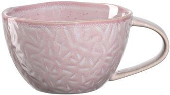 Leonardo Kaffee Obertasse Matera 290 ml rosa