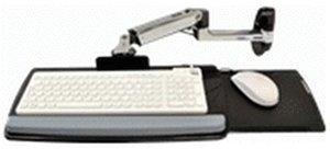 Ergotron Tastaturschwenkarm für Wandmontage (Poliertes Aluminium)