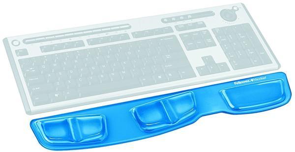 Fellowes Health-V Crystals Gel Tastatur-Handgelenkauflage (91831)
