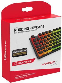 HyperX Pudding Keycaps PBT (US) Transparent/Black