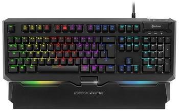 Sharkoon Shark Zone MK80 RGB Red Tastatur