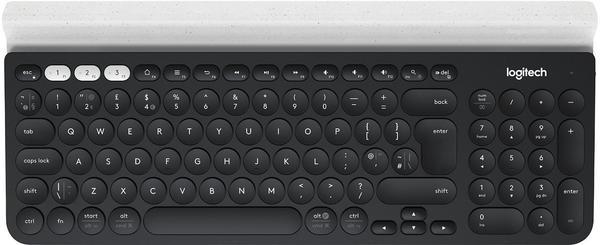 Logitech K780 Bluetooth Wireless Keyboard DE schwarz