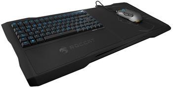 Roccat Sova USB QWERTY Englisch Schwarz - Tastaturen (USB, Gaming, Membran-Schlüsselschalter, QWERTY, Englisch, Verkabelt)