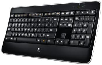 Logitech Wireless Illuminated Keyboard K800 CH