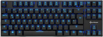 Sharkoon PureWriter TKL Blue (DE)