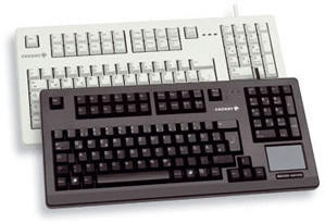 Cherry TouchBoard G80-11900 US schwarz (G80-11900LUMEU-2)