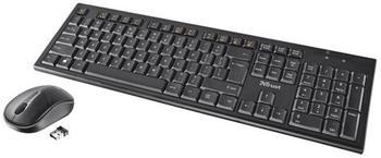Trust Nola Wireless Keyboard & Mouse (DE)
