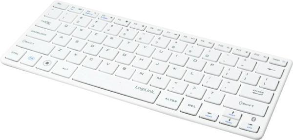 LogiLink Bluetooth Funk Slim Tastatur (ID0111)