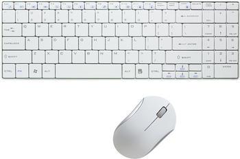 LogiLink Slim Tastatur & Maus Set mit Autolink Funktion (ID0109)