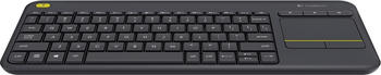 Logitech K400 Plus Wireless Touch Tastatur (black) NL