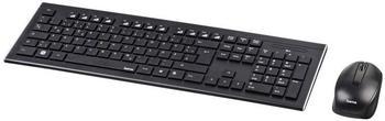 Hama Cortino Wireless Tastatur DE (Set) (00182664)