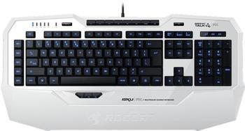 Roccat Isku FX Multicolor Gaming Keyboard ES weiß
