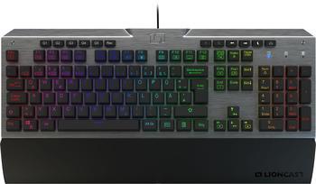 Lioncast LK300 PRO RGB Gaming, Tastatur