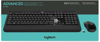 "Logitech ADVANCED Combo Wireless Keyboard and Mouse DE Tastatur """""