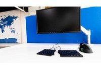 R-GO Tools RGOCOMSM-US USB Tastatur Maus-Set Ergonomisch US-Englisch, QWERTY Schwarz