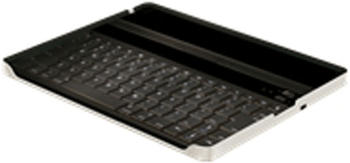 Peter Jäckel Aluminium Keybord Case mit Bluetooth-Tastatur für Apple iPad 2/iPad 3 DE