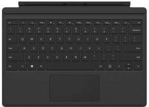 Microsoft Surface Pro 4 Type Cover (Black) (UK)