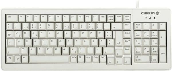 CHERRY XS Complete Keyboard (weiß)(DE)