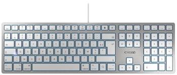 CHERRY KC 6000 SLIM FOR MAC (silber)(FR)