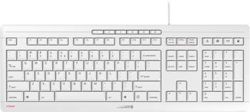 CHERRY STREAM Keyboard grey (US)