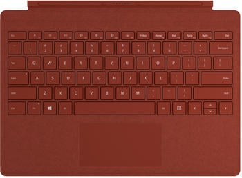 Microsoft Surface Pro Signature Type Cover (2019) rot