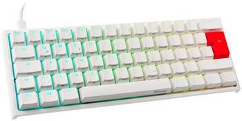 Ducky Channel ONE 2 Mini weiß (MX Speed Silver)(DE)