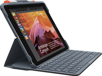Logitech Slim Folio iPad (7. Gen)(graphite)(UK)