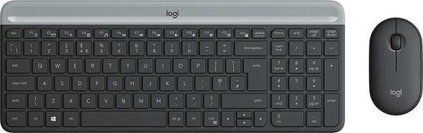 Logitech Slim Wireless Combo MK470 (graphite)(DE)